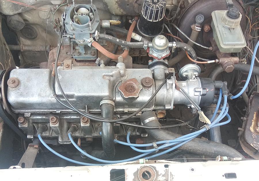 Первичная диагностика карбюраторного двигателя автомобиля