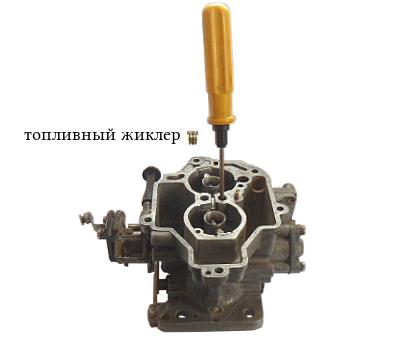 Жиклеры карбюратора солекс 21083