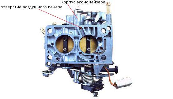 воздушный канал экономайзера 2108