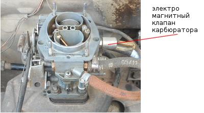 image 10 - Чистка карбюратора ваз 21099
