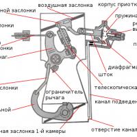 схема пускового устройства 2105, 2107