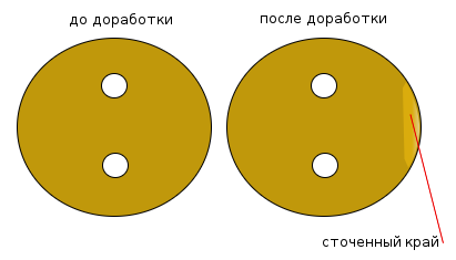 дроссель карбюратора Озон доработанный