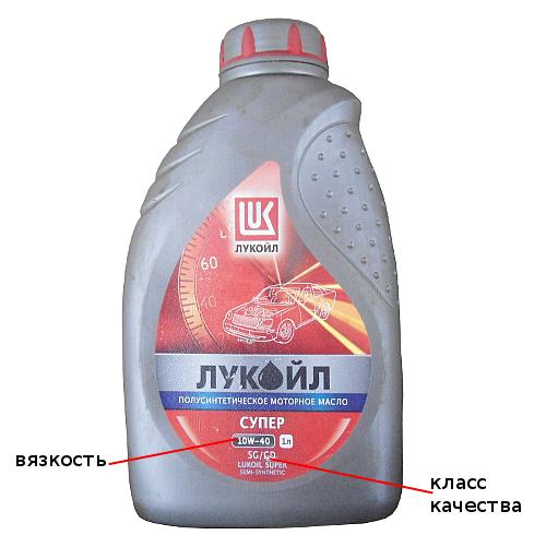 маркировка моторного масла