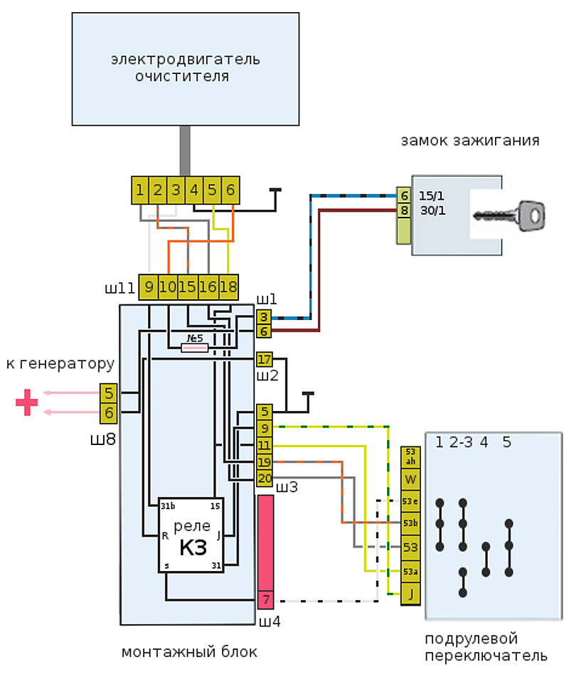 image244 - Моторедуктор стеклоочистителя ваз 2109