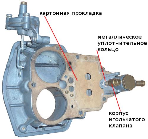 корпус клапана