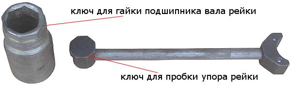 ключи для рейки 2108
