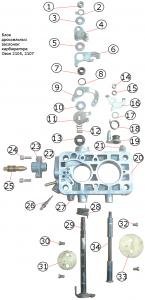 схема блока дроссельных