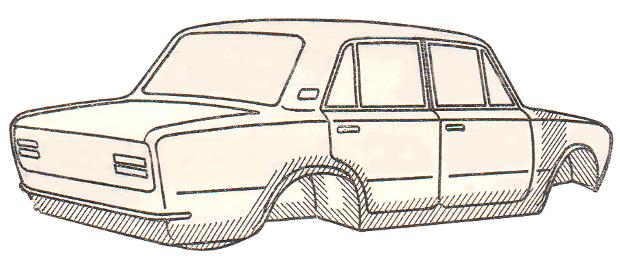коррозия кузова 2101-2107