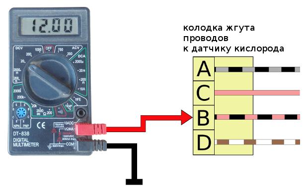 проверка нагревательного элемента ДК