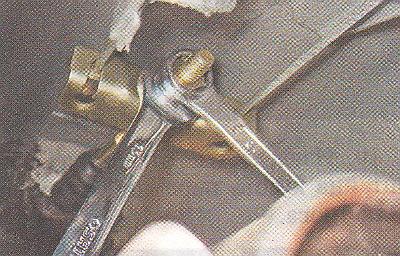регулировка ручника 2108, 2109