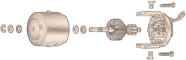 схема электродвигателя отопителя 2107