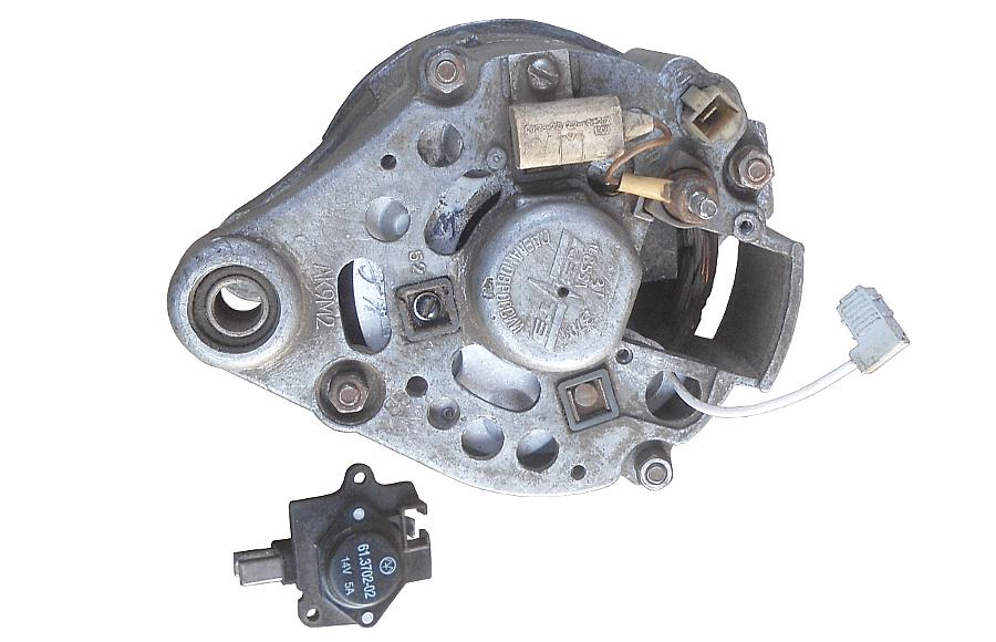 Принцип действия автомобильного генератора