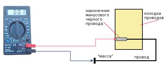 проверка массы заднего фонаря 2108. 2109