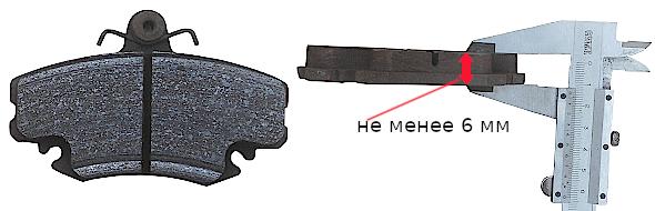 замена передних тормозных колодок рено логан