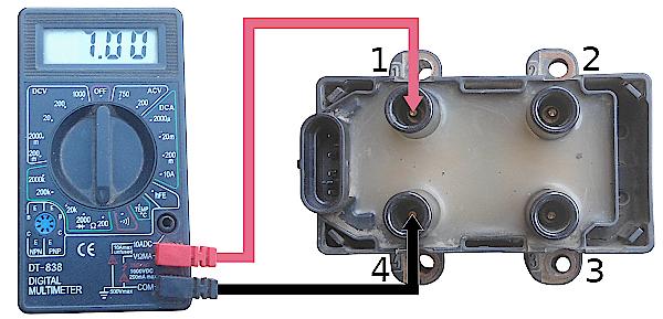 Проверка модуля зажигания Рено Логан первого поколения