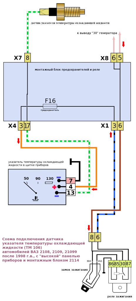 image1169 463x1024 - Схема подключения датчика температуры ваз 2114