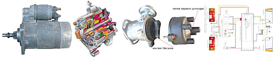 электрооборудование ВАЗ 2108, 2109, 21099