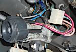 провода замка зажигания 2108, 2109