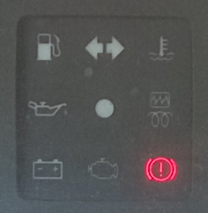 загорелась лампа тормозной системы