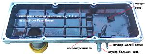 прочистка системы вентиляции картера двигателя k7j Рено Логан