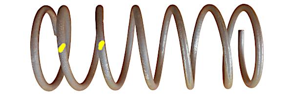 пружины в подвеску ВАЗ 2108, 2109