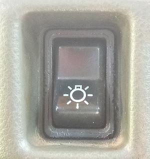 выключатель наружного освещения кнопка