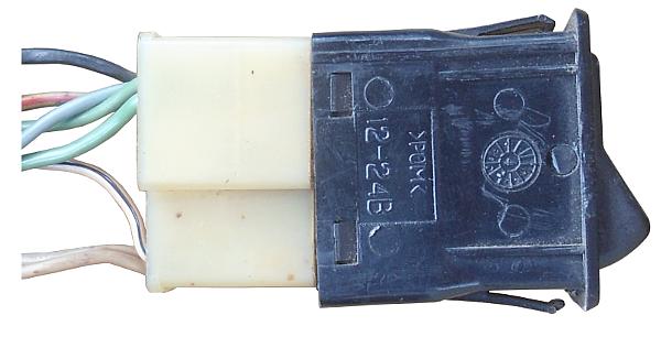 фишка выключателя наружного света 2108, 2109