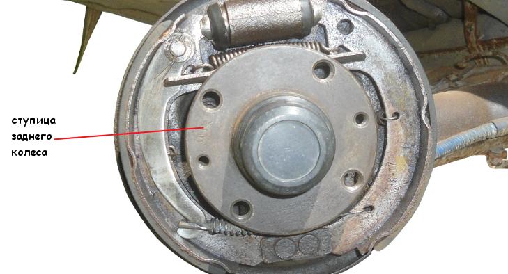 Ступица заднего колеса ВАЗ 21093
