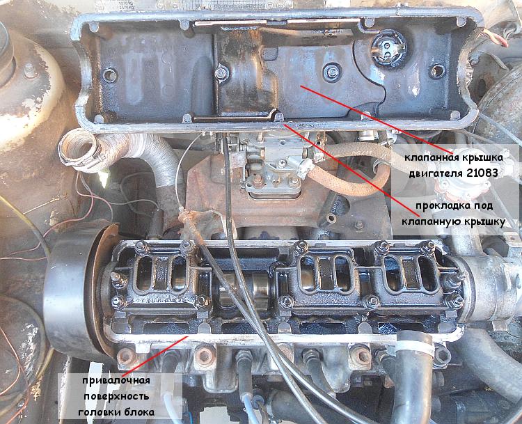 течет моторное масло под клапанную крышку двигателя автомобиля