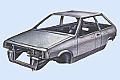 кузов легкового автомобиля, ремонт