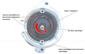 проверка и ремонт центробежного регулятора опережения зажигания ВАЗ 2108, 2109, 21099