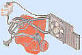 система охлаждения двигателя 21083