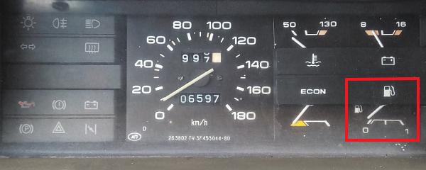 указатель уровня топлива в бензобаке ВАЗ 21083