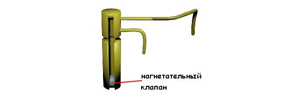 Нагнетательный клапан ускорительного насоса карбюратора Солекс 2108, 21081, 21083