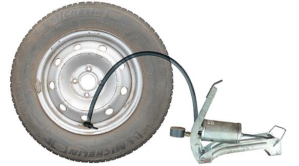 Давление в шинах колес автомобилей ВАЗ 2108, 2109, 21099