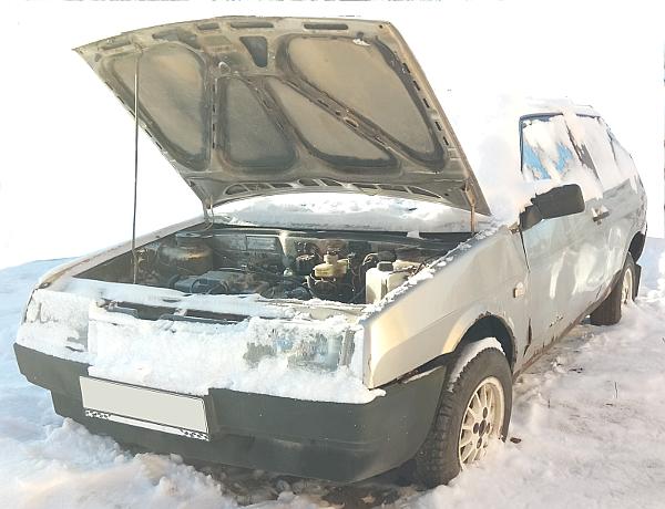 ВАЗ 2109 не заводится в мороз