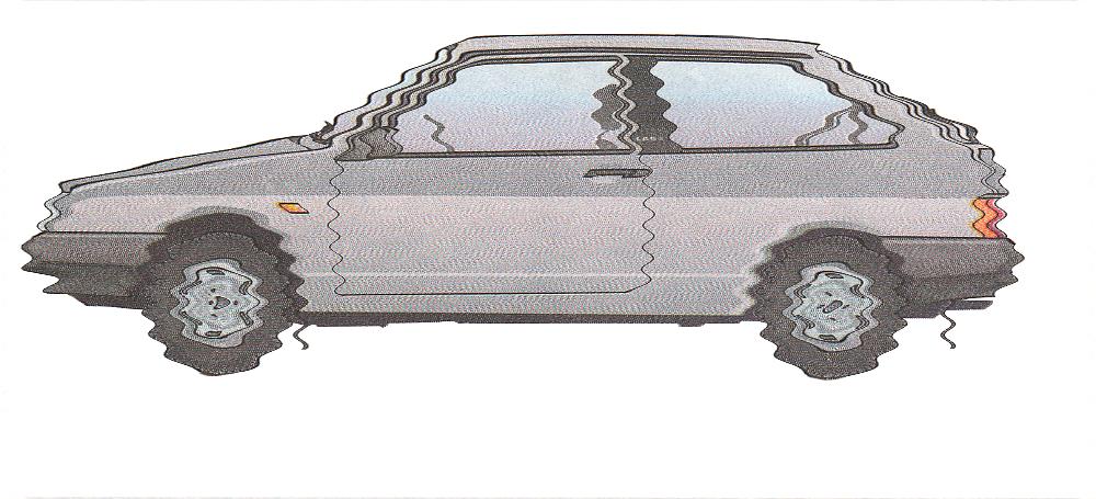 Вибрация при движении автомобиля, причины неисправности
