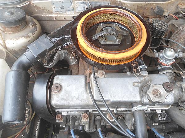 Как влияет засорение воздушного фильтра двигателя на его работу?