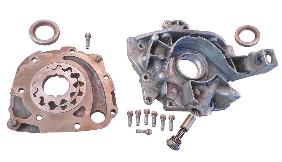 Неисправности масляного насоса двигателя ВАЗ 2108, 2109, 21099