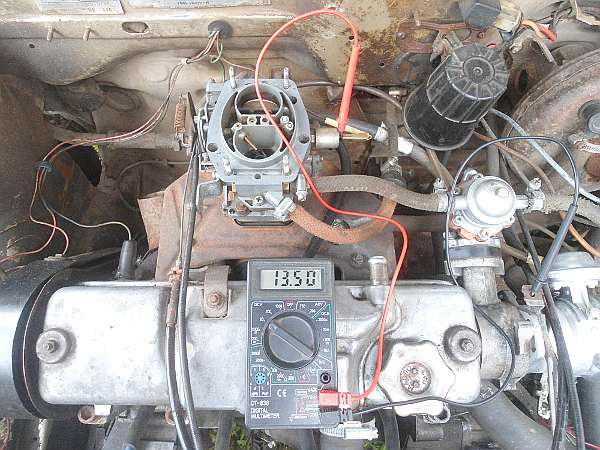 Неустойчивый холостой ход карбюраторного двигателя