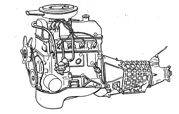 Двигатель 21213 автомобиля Нива 21213