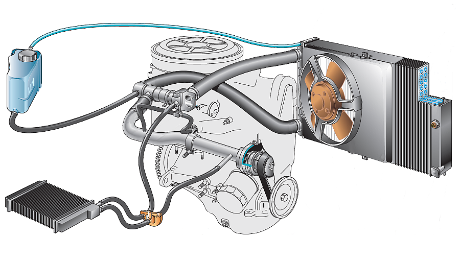 Признаки появления воздушной пробки в системе охлаждения двигателя автомобиля