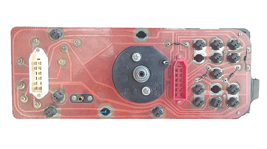 Комбинация приборов ВАЗ 2108, 2109, 21099 с низкой панелью приборов