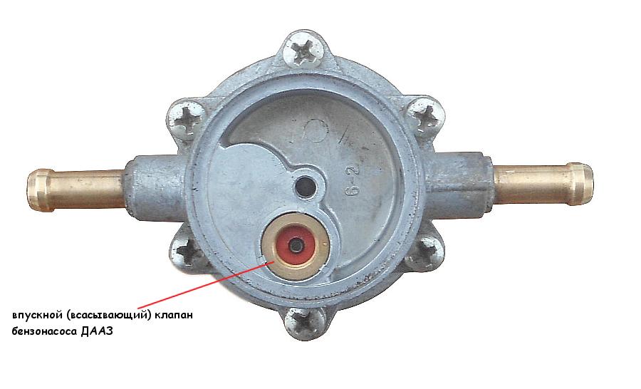 Впускной клапан бензонасоса ДААЗ