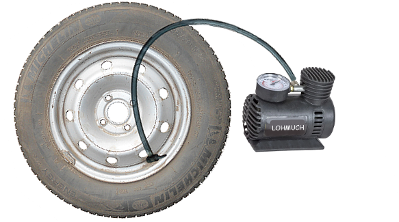 Давление в шинах колес автомобилей ВАЗ 2114, 2115, 2113
