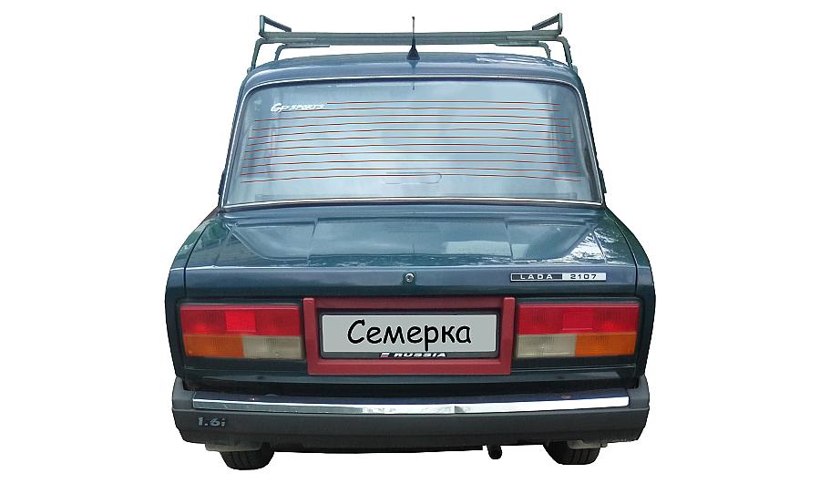 Обогрев заднего стекла ВАЗ 2107