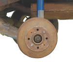 Снимаем тормозной барабан на автомобилях ВАЗ 2108, 2109, 21099