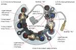 Диодный мост генератора автомобиля, устройство, принцип действия