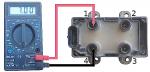Проверка модуля (катушки) зажигания автомобилей Рено Логан 1
