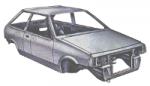 Проблемные места кузова автомобилей ВАЗ 2108, 2109, 21099